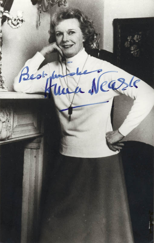 Image 1 for Anna Neagle - Autographed Signed Photograph - HFSID 159786