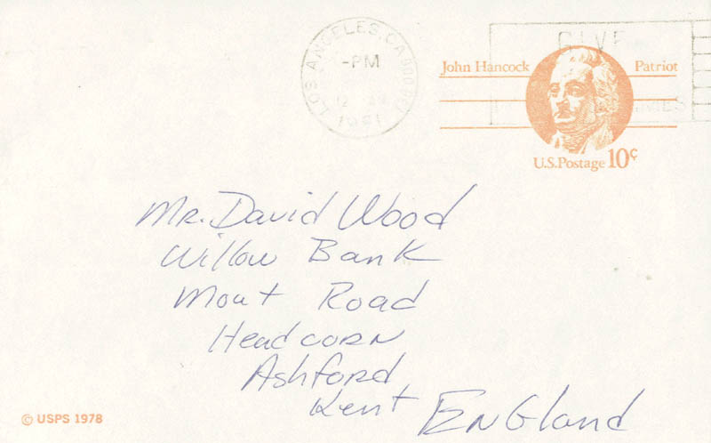Image 3 for Ned Beatty - Autograph Letter Signed Circa 1981 - HFSID 159860