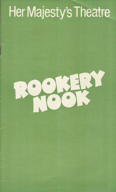 Image 9 for Rookery Nook Play Cast - Inscribed Program Signed Circa 1979 with co-signers - HFSID 159878