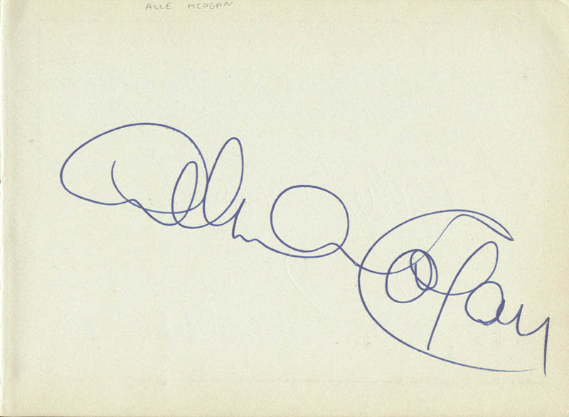 Image 3 for Eddie Calvert - Autograph co-signed by: Alma Cogan - HFSID 159918