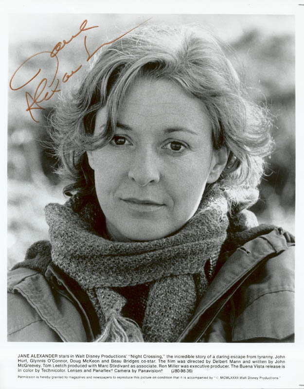 Image 1 for Jane Alexander - Autographed Signed Photograph - HFSID 16003