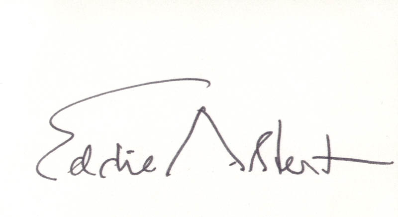 Image 1 for Eddie Albert - Autograph - HFSID 160154
