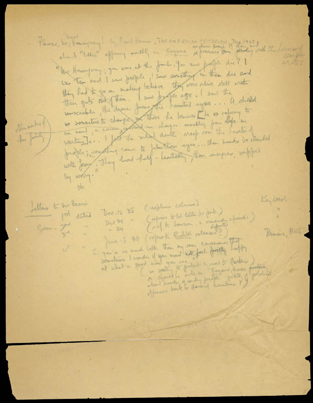 Image 1 for Ernest 'Papa' Hemingway - Third Person Autograph Document - HFSID 160236