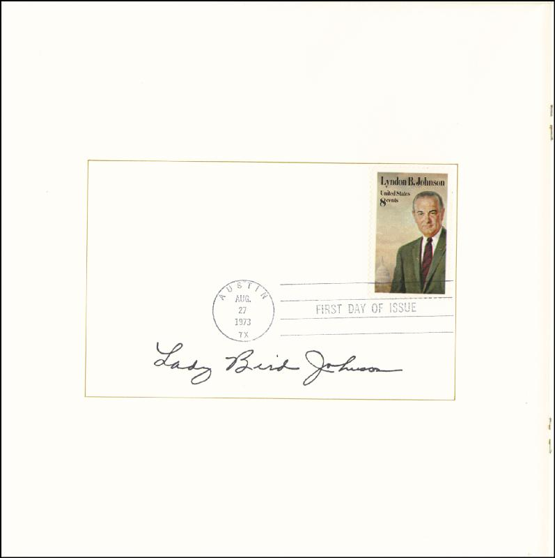 Image 1 for First Lady Lady Bird Johnson - Program Signed - HFSID 16038