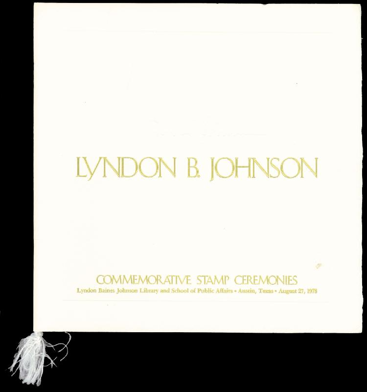Image 3 for First Lady Lady Bird Johnson - Program Signed - HFSID 16038