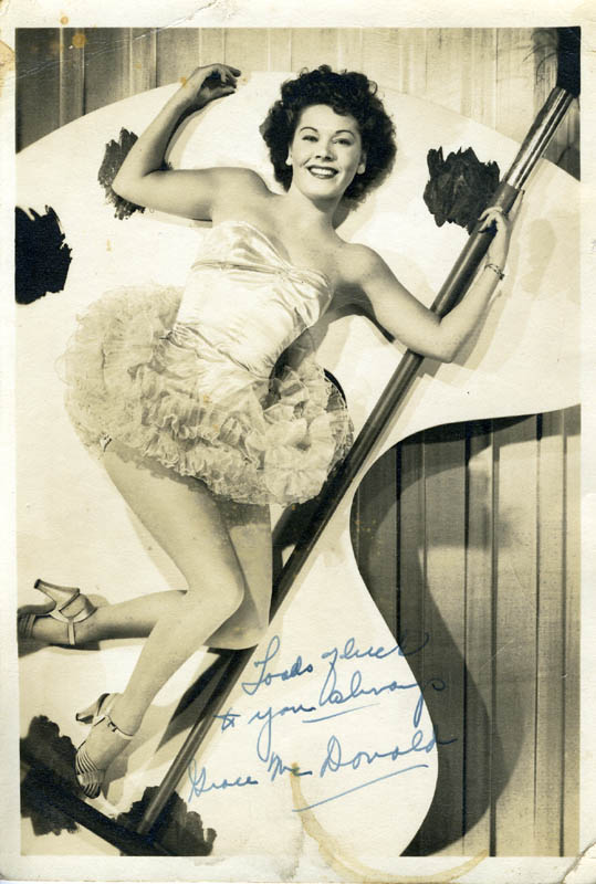 Image 1 for Grace Mcdonald - Autographed Signed Photograph - HFSID 160407
