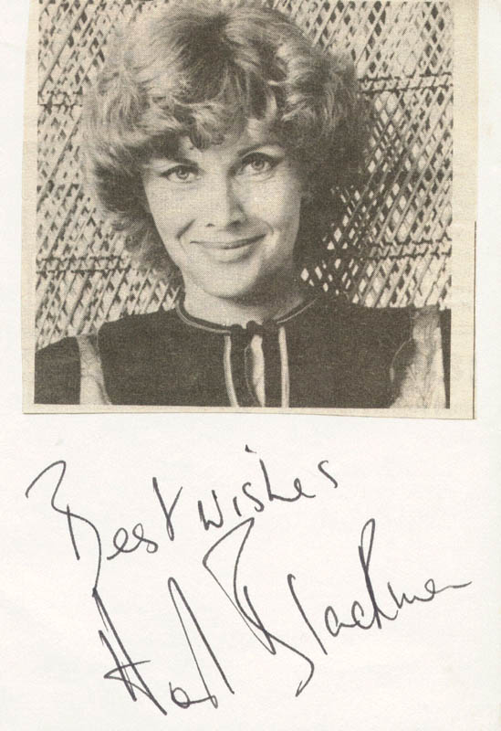 Image 1 for Honor Blackman - Picture Post Card Signed - HFSID 160550