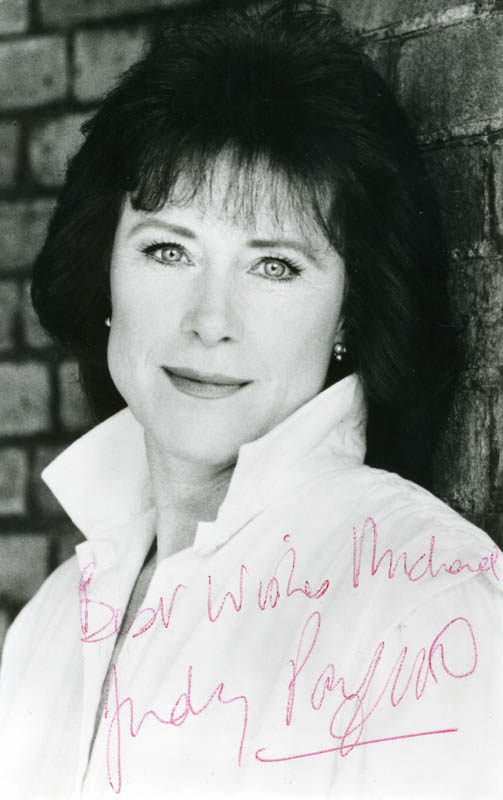 Image 1 for Judy Parfitt - Autographed Inscribed Photograph - HFSID 160594
