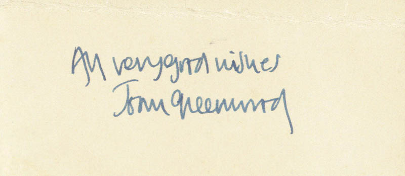 Image 1 for Joan Greenwood - Autograph Sentiment Signed - HFSID 161071