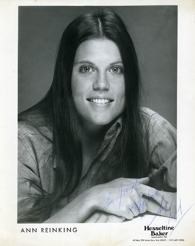 Image 1 for Ann Reinking - Autographed Inscribed Photograph - HFSID 161145