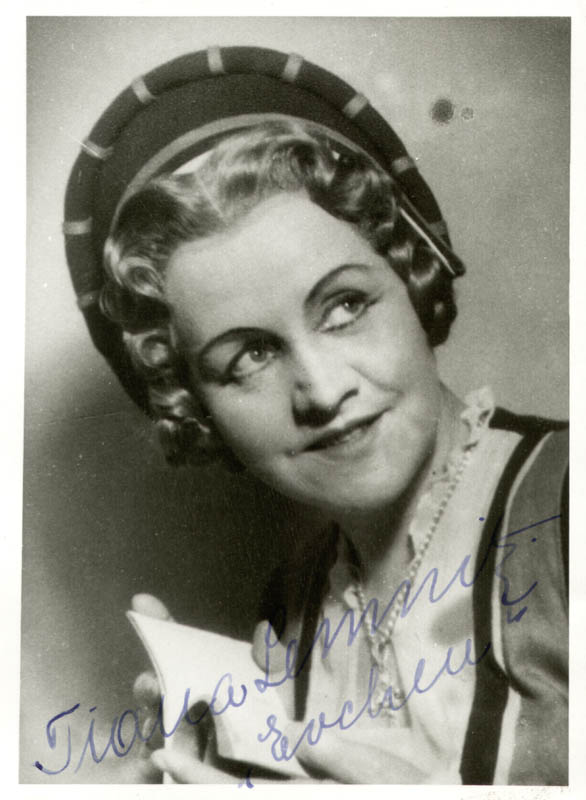 Image 1 for Tiana Lemnitz - Autographed Signed Photograph - HFSID 161173