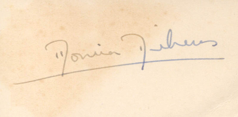 Image 1 for Monica Enid Dickens - Autograph - HFSID 161186