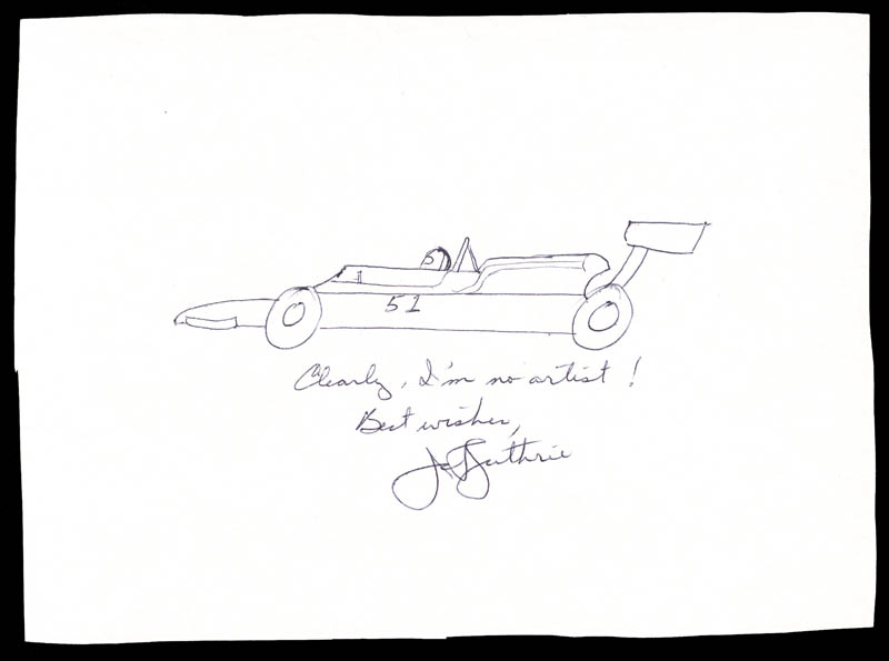 Image 1 for Janet Guthrie - Original Art Signed - HFSID 16127