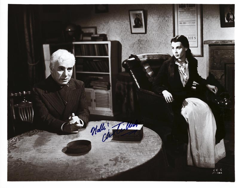 Image 1 for Charlie 'The Little Tramp' Chaplin - Autographed Signed Photograph - HFSID 161403