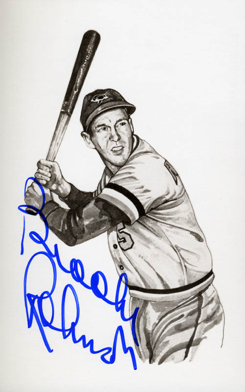Image 1 for Brooks Robinson - Picture Post Card Signed - HFSID 163515