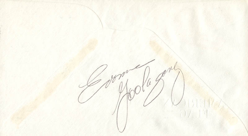 Image 3 for Joe Rosenthal - First Day Cover Signed co-signed by: Evonne Goolagong, John H. Bradley - HFSID 165057