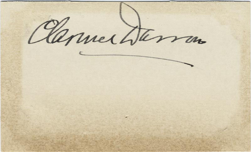 Image 1 for Clarence Darrow - Autograph - HFSID 165514
