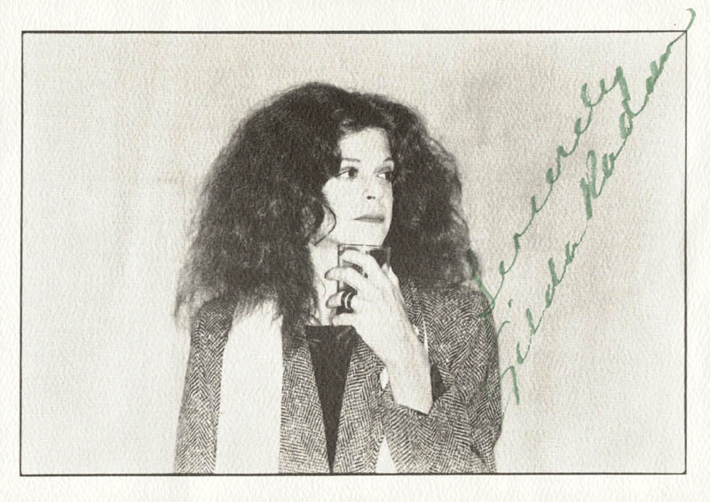 Image 1 for Gilda Radner - Picture Post Card Signed - HFSID 165629