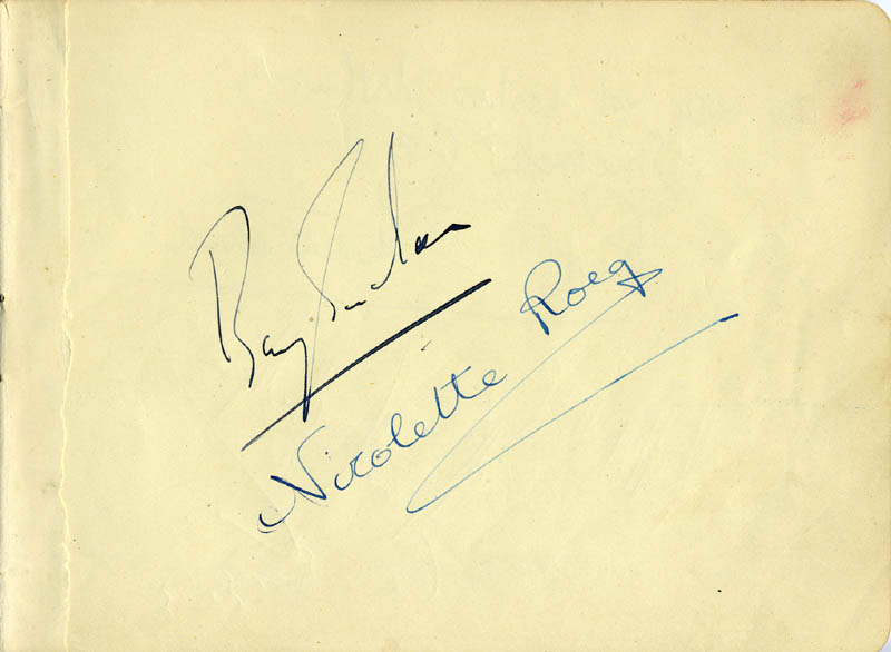 Image 3 for Ruth Maitland - Inscribed Signature co-signed by: Nicolette Roeg - HFSID 165653