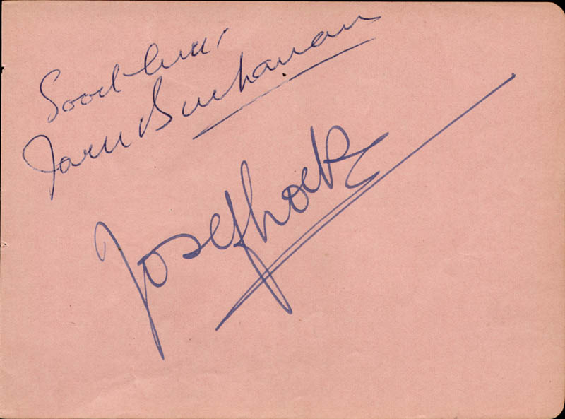 Image 3 for Allan Jones - Autograph Sentiment Signed co-signed by: Irene Hervey, Jack Buchanan - HFSID 165662