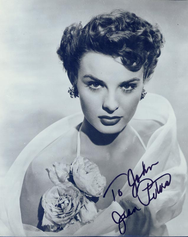 Image 1 for Jean Peters - Autographed Signed Photograph - HFSID 166391