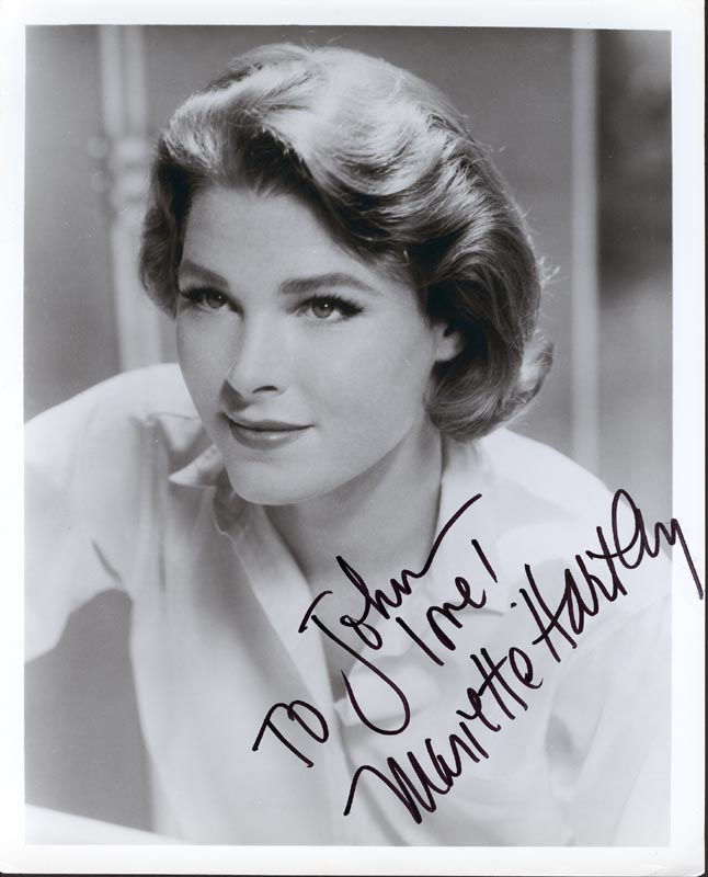 Image 1 for Mariette Hartley - Autographed Inscribed Photograph - HFSID 166394