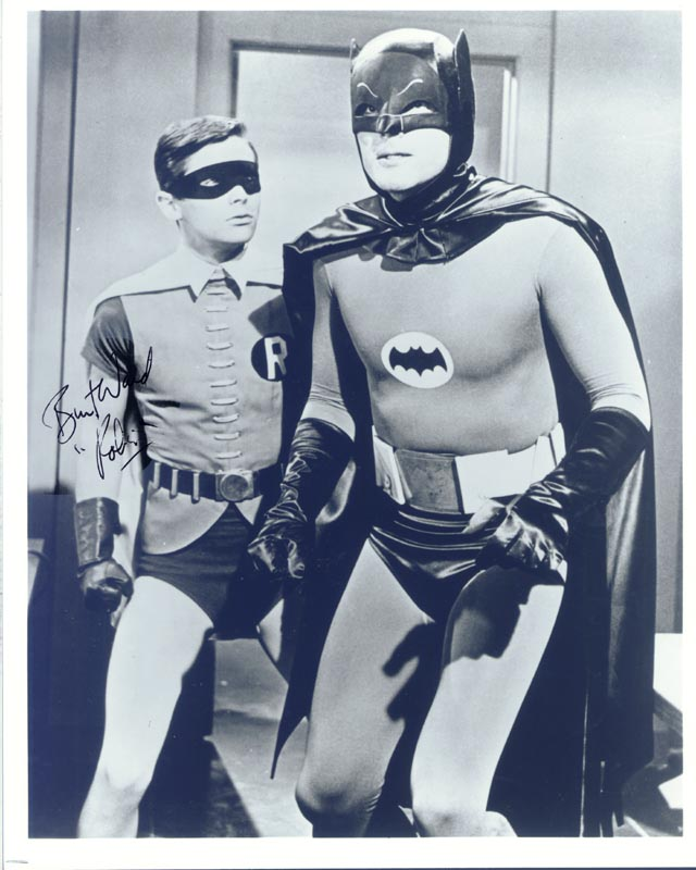 Image 1 for Burt Ward - Autographed Signed Photograph - HFSID 166459
