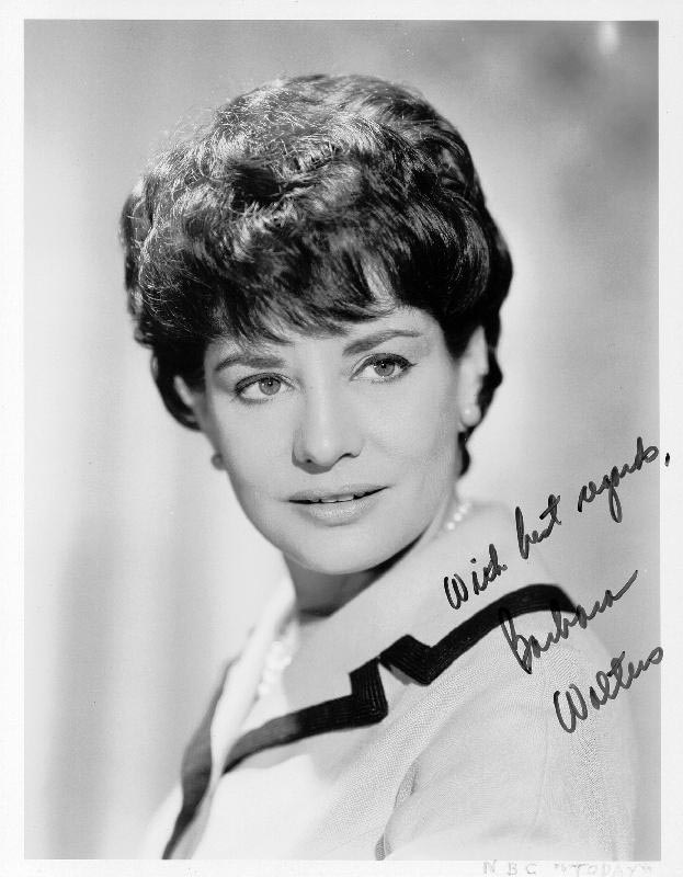 Image 1 for Barbara Walters - Autographed Signed Photograph - HFSID 166525