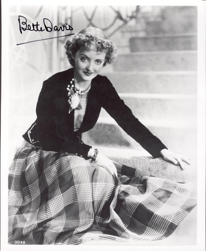 Image 1 for Bette Davis - Autographed Signed Photograph - HFSID 166549