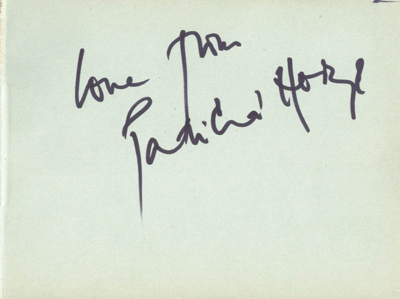 Image 3 for Miranda Richardson - Autograph co-signed by: Patricia Horn - HFSID 166637
