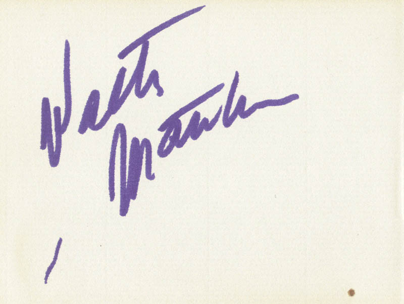 Image 3 for Susannah York - Autograph co-signed by: Walter Matthau - HFSID 166639