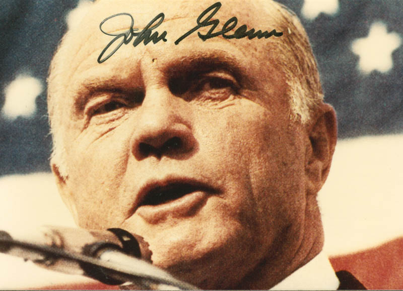 Image 1 for John Glenn - Autographed Signed Photograph - HFSID 166775