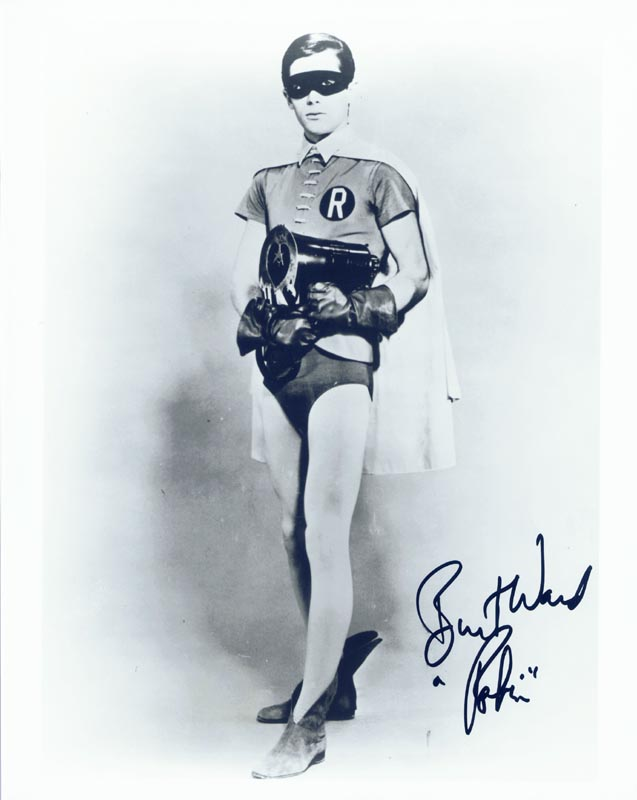 Image 1 for Burt Ward - Autographed Signed Photograph - HFSID 166783