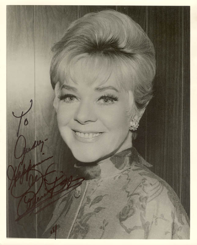 Image 1 for Alice Faye - Autographed Inscribed Photograph 1965 - HFSID 166806