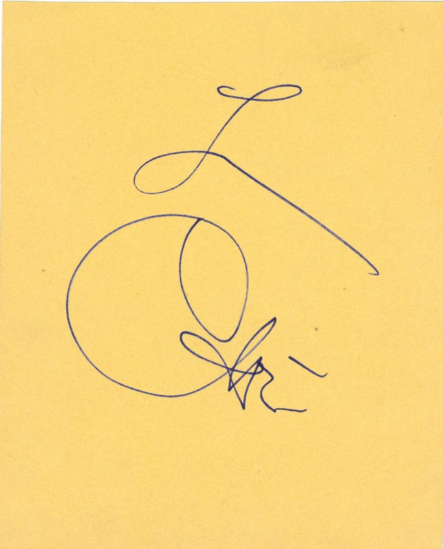 Image 1 for Cher - Autograph - HFSID 166824