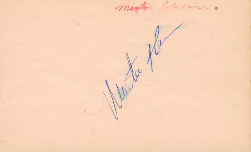 Image 1 for Martin Sheen - Autograph co-signed by: Larry Adler - HFSID 166839