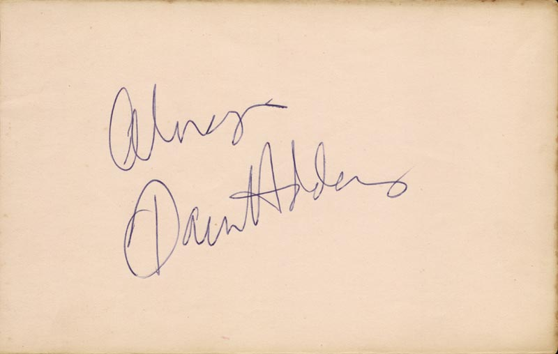Image 1 for Dawn Addams - Autograph - HFSID 166841