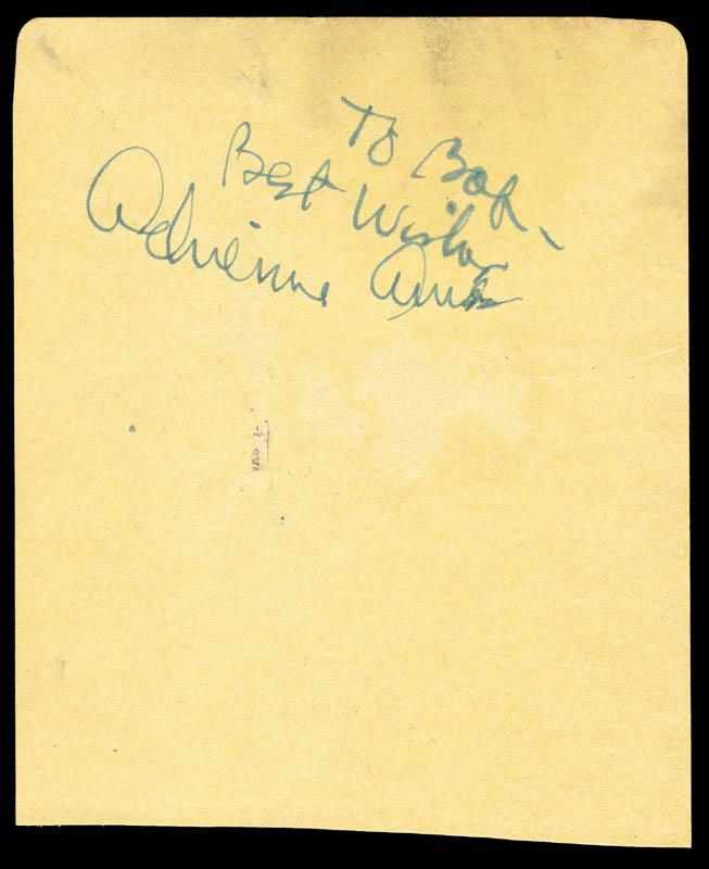 Image 3 for Tommy Dorsey - Autograph co-signed by: Ziggy Elman, Adrienne Ames - HFSID 167020