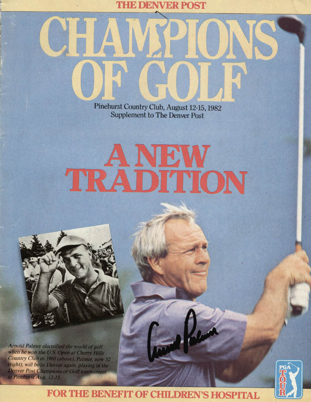 Image 1 for Arnold Palmer - Magazine Cover Signed - HFSID 167179