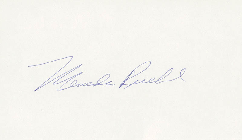 Image 1 for Mercedes Ruehl - Autograph - HFSID 167639