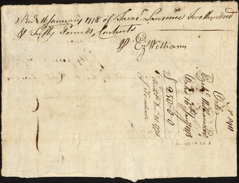Image 3 for Chief Justice Oliver Ellsworth - Manuscript Document Signed 01/16/1778 co-signed by: Ezekiel Williams, James Church - HFSID 168329