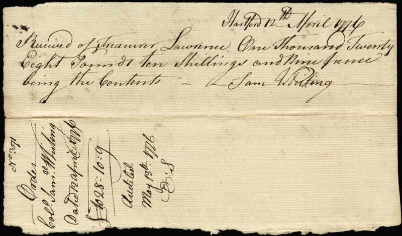 Chief Justice Oliver Ellsworth - Autograph Document Signed ...