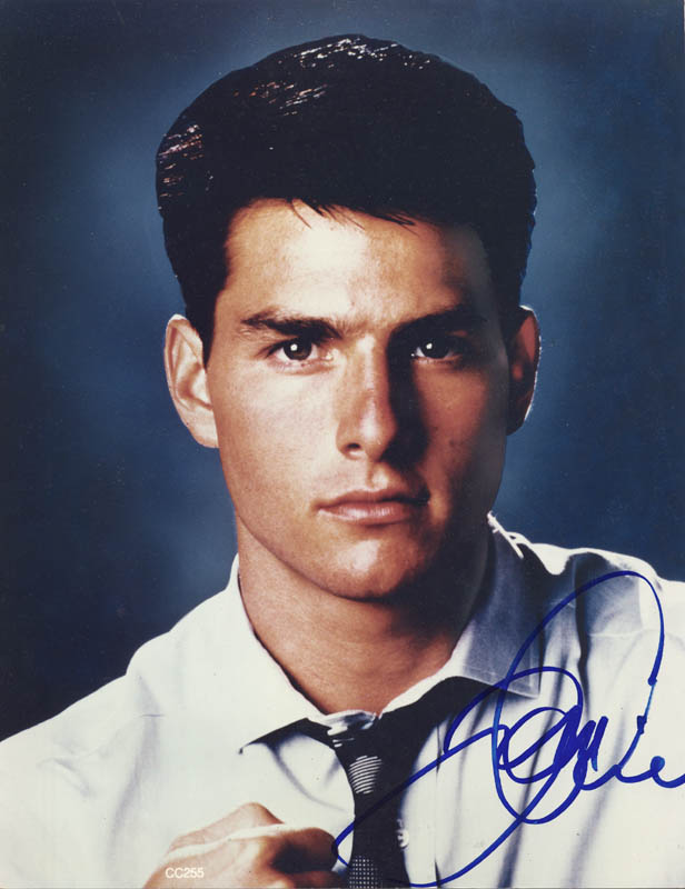 Image 1 for Tom Cruise - Autographed Signed Photograph - HFSID 168427