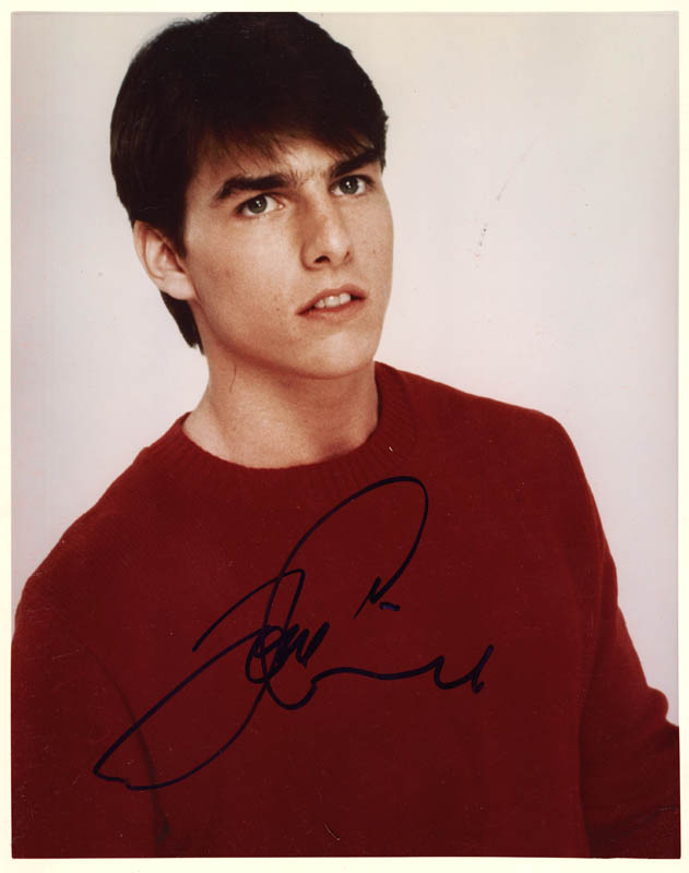Image 1 for Tom Cruise - Autographed Signed Photograph - HFSID 168428