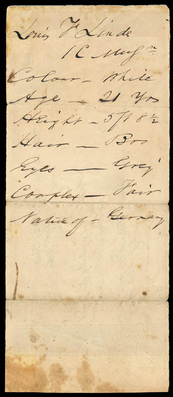 Image 3 for Admiral David G. Farragut - Document Signed 09/27/1844 - HFSID 168432
