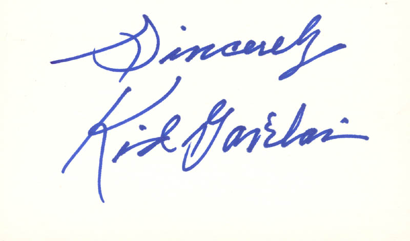 Image 1 for Kid Gavilan - Autograph Sentiment Signed - HFSID 168544