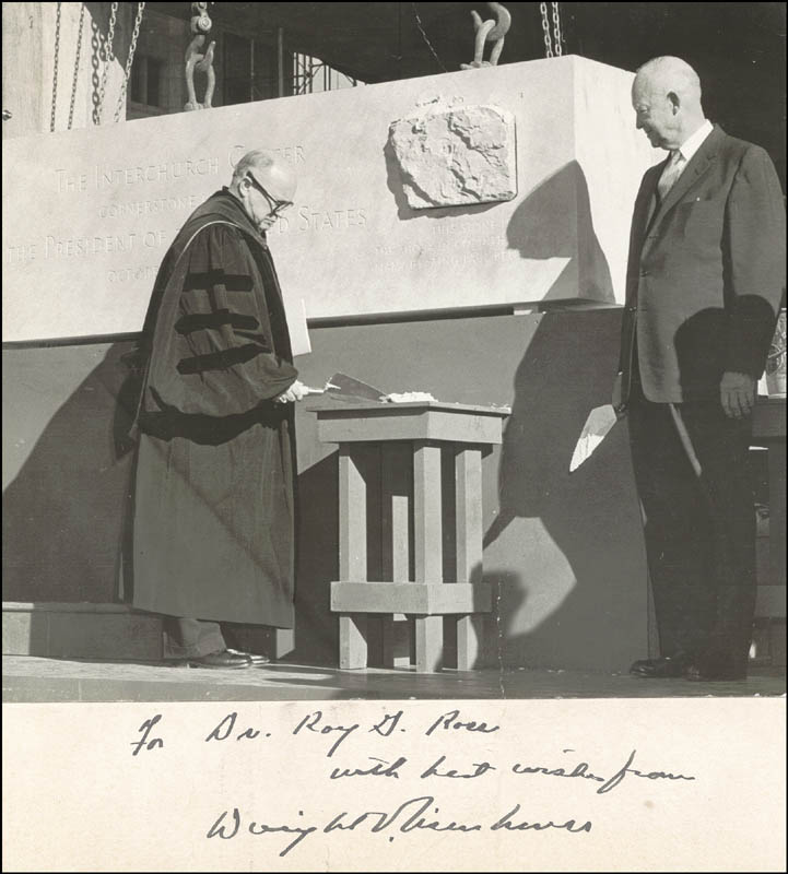 Image 1 for President Dwight D. Eisenhower - Inscribed Photograph Mount Signed - HFSID 16891