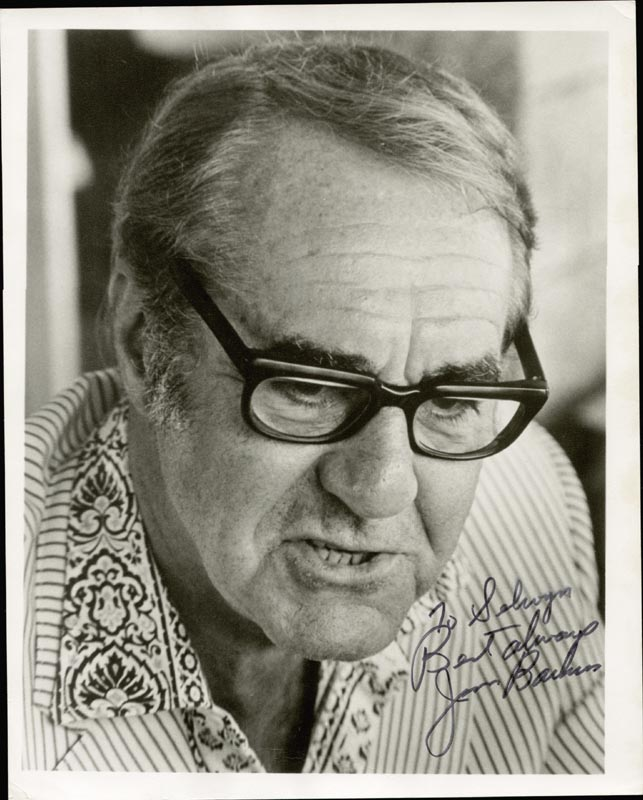 Image 1 for Jim Backus - Autographed Inscribed Photograph - HFSID 168912