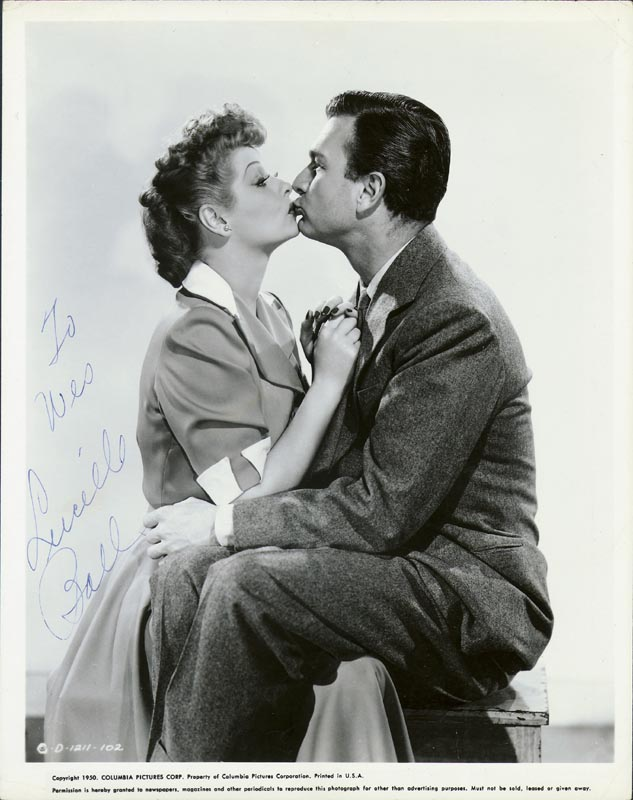 Image 1 for Lucille 'Lucy' Ball - Autographed Inscribed Photograph - HFSID 168989