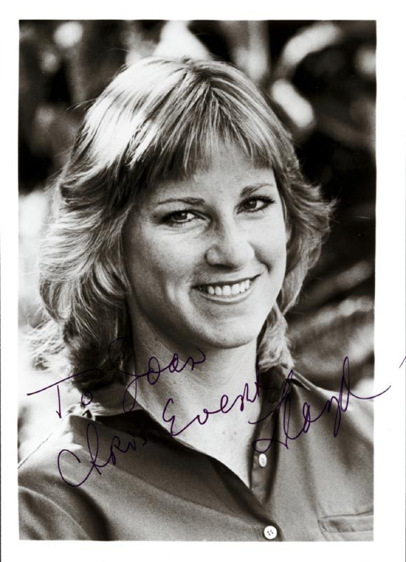 Image 1 for Chris Evert - Autographed Inscribed Photograph - HFSID 1692